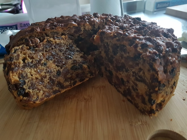 Easy Fruit Cake